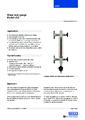 Katalogový list - Přímý skleněný stavoznak LGG - Přímý skleněný stavoznak