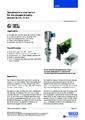 Katalogový list - Optický hladinový spínač, model OLS-S a OSA-S - Optický hladinový spínač OLS