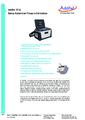 Datasheet 761A - Automatický kalibrátor tlaku Additel 761A