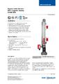 Katalogový list - Obtokový magnetický stavoznak BNA - Obtokový magnetický stavoznak BNA