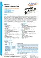 Datasheet pumpy ADT917 - Pneumatické pumpy Additel série ADT900