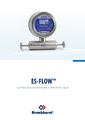 Katalógový list ES-103I/ES-113I - Bronkhorst ES-FLOW